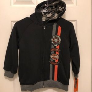 HARLEY DAVIDSON KIDS ZIP JACKET
